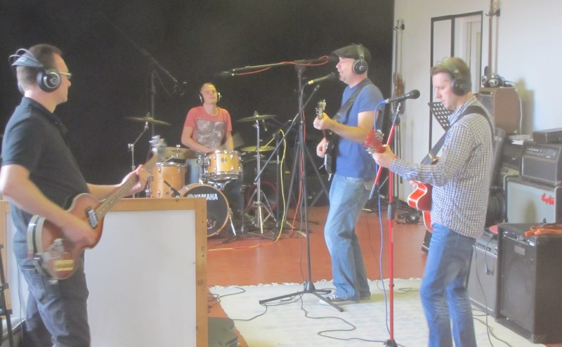 Inspelning Backbeat - Playground Studio