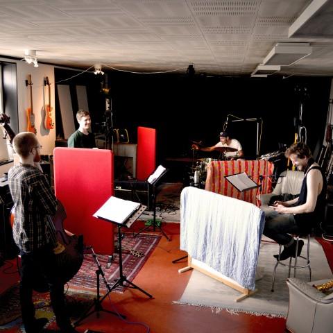 Hugo Ulfsson Kvartett i studion