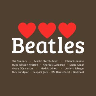 Three Hearts Beatles Omslag Framsida